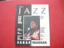 BLU JAZZ-MENSILE 1990-N.6-ANNO II-ATHENA-SARAH VAUGHAN