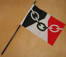 Black Country Small Flag 6x4 West Midlands Football Dudley Sandwell Walsall  New