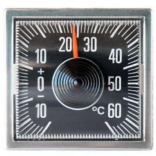 Original Bimetall Thermometer 1978 mit Magnet Klebepad von RICHTER / HR Art 4526
