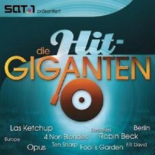 DIE HIT GIGANTEN  2 CD SOFT CELL MR BIG LAS KETCHUP FOOL´s GARDEN OPUS NEU