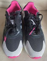 Adidas Originals Tresc Run Boost EG5023 Black/Gray/Pink Mens Sz 10.5