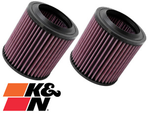 PAIR OF K&N REPLACEMENT AIR FILTER FOR AUDI A8 D3 BHT 6.0L W12