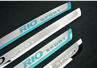 High Quality Shiny Stainless Steel Door Sill Scuff Plate for KIA RIO 2009-2017