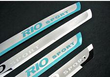 Alta Calidad Brillante Acero Inoxidable Umbral Placa protectora para KIA RIO