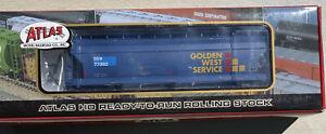 Atlas ACF 4650 3 Bay Centerflow Hopper Car Golden West Service SSW 77382 In Box