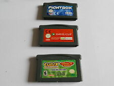 Games GAMEBOY  / ADVANCE / SP GBA GAME cubix davis cup fightbox