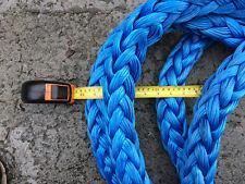 "New listing Heavy Lifting Rope AmSteel-Blue 26' long x 1-5/8"" Diameter 283,000lb"