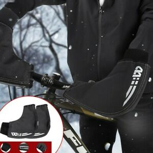 Winter Cycling Gloves Windproof Bike Gloves Handlebar Mittens Hand Warmer Covers