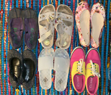 Womens Shoe Lot Size 7 Ballet Flats Flip-Flops Sandals Tennis Shoes