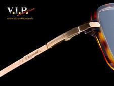 S.T.Dupont Glasses Eyewear Sunglasses Horn & Gold Glasses Sunglasses Occhiali