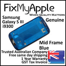 Samsung Galaxy S3 i9300 Blue Mid Frame Bezel Housing Middle Bracket Replacement