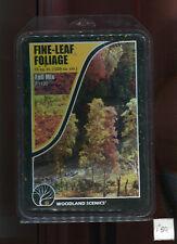 Foliage - Fine Leaf  Fall Mix F1135 scenery O Scale Woodland Scenics