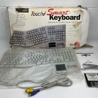 Rare Vintage Touche Smart Keyboard #6510 Early Touch Pad Technology - Excellent!