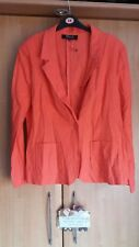 L@@K NWT SIZE 18 LIGHTWEIGHT DRESS UP DOWN LINEN BLEND JACKET/BLAZER