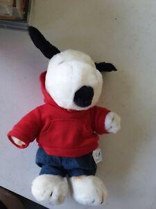 Snoopy Plush Peanuts Joe Cool Hoodie Jeans Toy