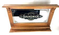 Brunswick Mirrored Ball Rack Vintage