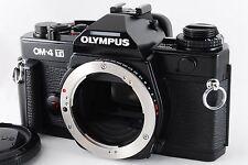 [Mint] Olympus OM-4 Ti 35mm SLR Film Camera Black From Japan (A966)