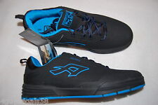 Mens Athletic Shoes BLACK TURQUOISE Skater Skateboard AIRSPEED Pat Duffy SIZE 8
