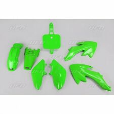 NEW UFO Honda CRF 50 Export Motocross MX Plastic Kit 2004 - 2017 Green