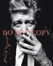 David Lynch Autographed  8X10 Signed Photo Reprint