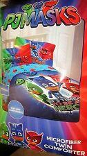 PJ Masks 4 Pc Twin/Single Comforter & Sheet Set NEW!