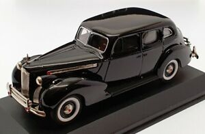 Rextoys 1/43 Scale Model Car RX01 - 1940 Packard Super 8 - Black