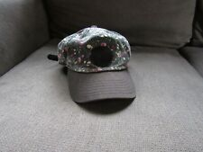 Vans Womens Black/White Micro Polka Dot/Rose Adjustable Hat