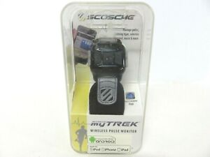 NEW Scosche My Trek Wireless Pulse & Calorie Monitor for Iphone & Ipod