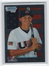 Corey Seager 2010 Bowman Chrome Team USA RC Rookie Card # BDPP108 LA Dodgers