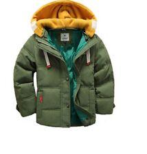 Abbigliamento casual verde in autunno per bambini dai 2 ai 16 anni