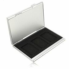 Aluminium Alloy Memory 6 SD Card Storage Box Case Holder UK Seller