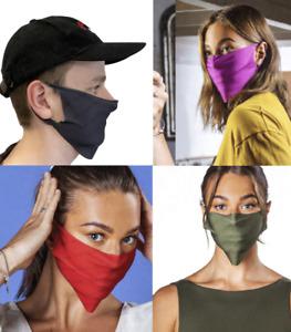 Réutilisable Toucher Soyeux Bumpa Masque Visage Couvrant - Vert Rouge Bleu Gris