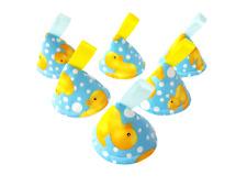 Pee Pee Teepee x6 / Wee Stop Cones Teepees / Boy Baby Shower Gift / Rubber Ducks