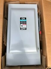 Siemens GNF324N 200 Amp 240V 3-phase Indoor Non-Fusible Gen. Duty Safety Switch