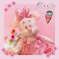 Disney Japan Plush Doll Minnie Mouse 2019 Cherry Blossom Sakura Pink Toy Gift