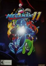NYCC 2018 Capcom Megaman Video Game 14x20 Double Sided Promo Poster Brand New