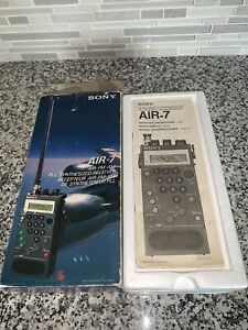 SONY AIR-7 Scanning Radio Receiver Air/FM/AM