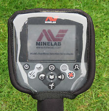 CONTROL BOX COVER TO FIT MINELAB CTX  -METAL DETECTOR- BLACK NEOPRENE