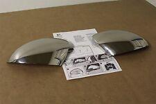 Seat Alhambra 2015-17 stainless steel wing mirror caps 7N5072530 Genuine Seat