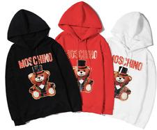Women's Men's Moschino Hoodies Hooded Sweatshirts Long Sleeve 2020 New