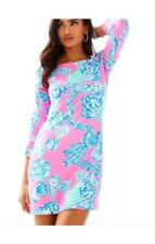 Lilly Pulitzer Pink Pout Barefoot Princess UPF 50+ Sophie Dress Small  New