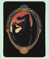Disney Unused Postcard Disneyland Villain Chernabog from Fantasia c1991