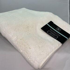 "Wamsutta Collection 21"" x 34"" Turkish Cotton Luxury Bath Rug - Ivory"