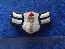(A33-2) US Rangabzeichen Metall Air Force Cadet Stoff älter ! sehr selten