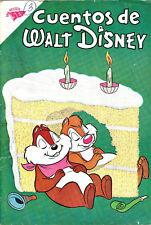 Spanish Language Cuentos de Walt Disney #257 Mexico December 1961
