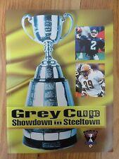 GREY CUP 1996 TORONTO ARGONAUTS vs EDMONTON ESKIMOS Program DOUG FLUTIE MVP