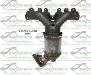 Catalytic Converter-Exact-Fit - Manifold Front Davico Exc CA 13096
