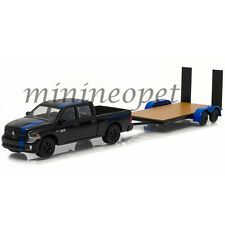 GREENLIGHT 32070C HITCH & TOW 2015 DODGE RAM 1500 MOPAR EDITION w FLATBED 1/64