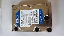 500 GB SATA western digital caviar Blue WD 5000 aaks - 22a7b0 #w500-0359