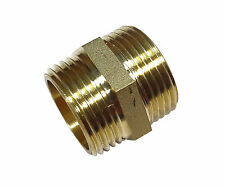 1 pulgadas Latón Hexagonal pezón | Bsp | British Standard Rosca de montaje